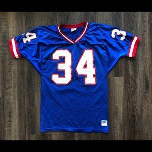 Vtg Herschel Walker Jersey NY Giants Wilson M USA